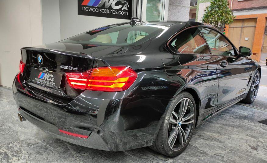 BMW 420D acabado M Sport